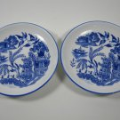 Reutter Porzellan Doll Plates Blue Willow