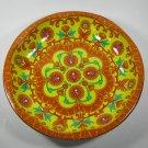 Daher Decorated Ware Orange Tin Bowl