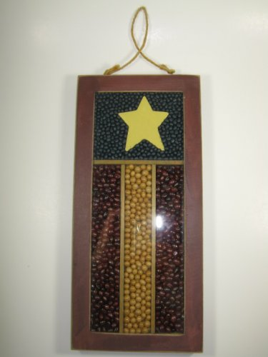 Rustic Bean Wall Hanging Decoration