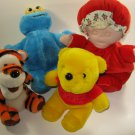 Tigger Pooh Cookie Monster Eden Stuffed Toys