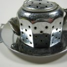 Tea Strainer Infuser Stainless Steel Tray