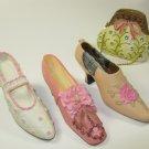 Resin Shoe High Heel Shoes Purse Lot 6