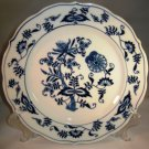 Blue Danube Blue Onion Salad Plate Rectangle Mark Japan
