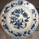 Blue Danube Blue Onion Dessert Plate Rectangle Mark Japan