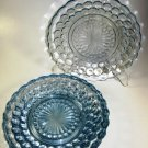 Anchor Hocking Fire King Blue Bubble Dessert Plates 5