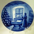 Kaiser Waiting for Santa Christmas 1970 Plate