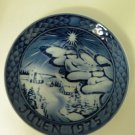 Grande Porcelain of Copenhagen Julen 1975 Collector Plate