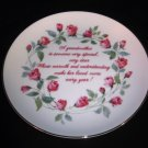 Lasting Memories Grandmother Plate