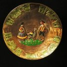 Peru Copper Decorative Plate