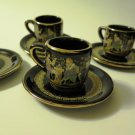 Grecian Demitasse Set Made in Greece