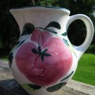 Pizzato Italy Hand Painted Pitcher
