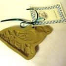 Brown Bag Cookie Art Mold Duck Ducklings 1985