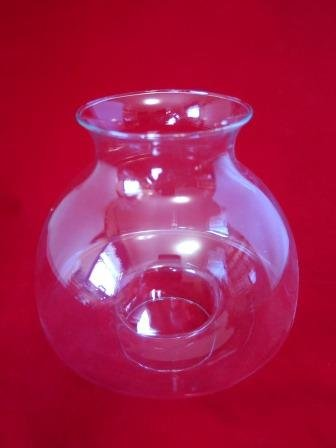 Votive Hurricane Globe Clear 2 3/4 Fitter
