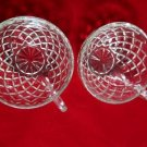 Diamond Point Snack Cups Set of Two