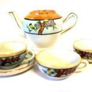 Childrens Tea Set Partial Made in Japan Lusterware