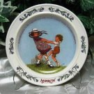Sarah Stilwell Weber Calendar Plate March Newell
