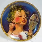 Making Believe at the Mirror Rockwell Collector Plate