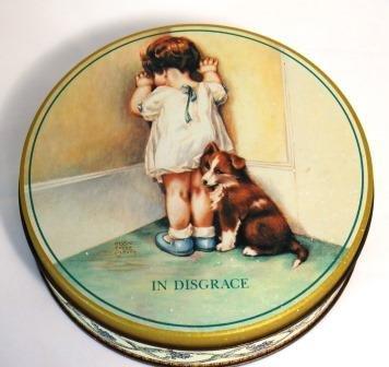 Bessie Pease Gutmann In Disgrace Tin