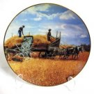 Harvesting at Last by Emmett Kaye Plate