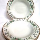 Farberware Wellesley China Rimmed Soup Bowls 4 K Bobonovsky