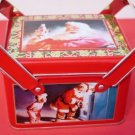 Coca Cola Santa Scented Candle Tin Double Handle