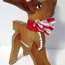 Wooden Rudolph Reindeer Christmas