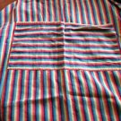 Vintage Striped Apron BBQ Baking Chef