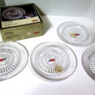 Fostoria Heritage Luncheon Plates NIB Set of 4