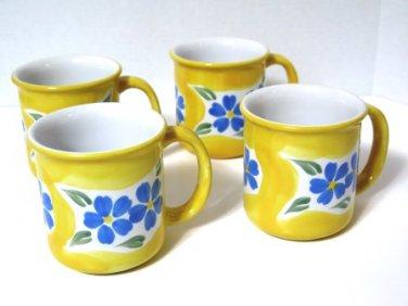 Dansk San Martino Mugs Set of 4