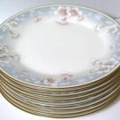 Noritake Ivory Susan Anne China Salad Plates Set of 8