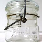 Ball Ideal Half Pint Wire Bail Glass Lid Jar