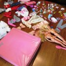 Barbies Case Clothes and Accessories