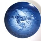 Bing & Grondahl Christmas at the Old Water-Mill 1975 Plate