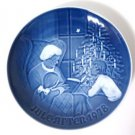 Bing & Grondahl A Christmas Tale 1978 Plate