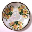 Ucagco March Daffodils Saucer Lustre