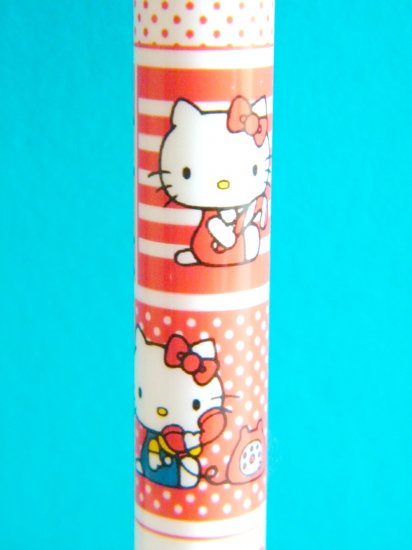 Hello Kitty Sanrio Red And White Mechanical Pencil