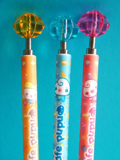 Cafe Pupu Mechanical Pencil, Made In Korea (ONLY ORANGE AND PINK LEFT)
