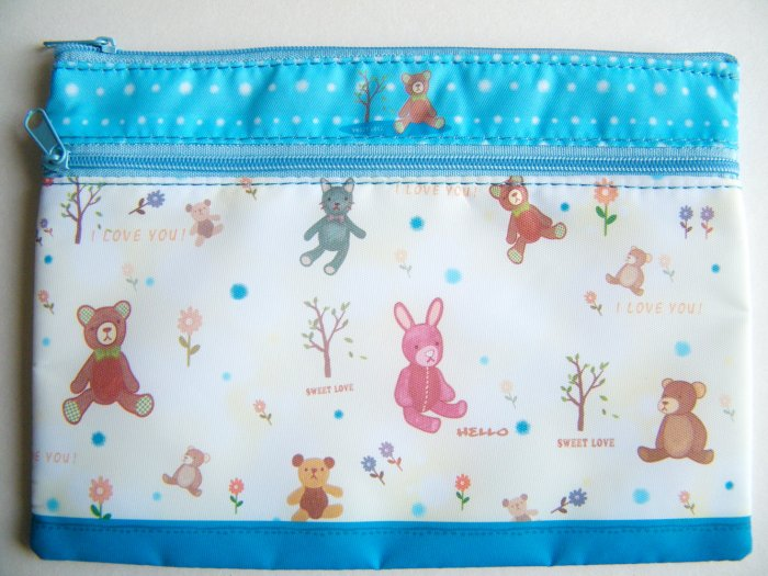 Animal In The Woods Pencil Case/Pouch