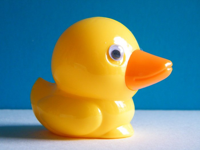 Yellow Duckling Pencil Sharpener