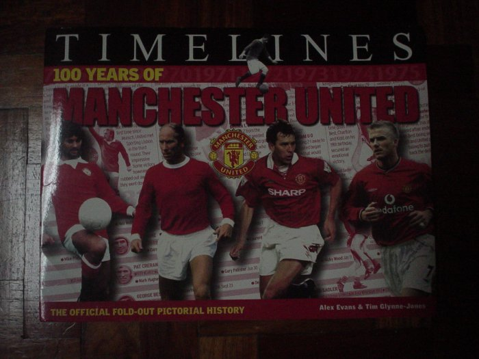 MANCHESTER UNITED BOOK | SOCCER | FOOTBALL