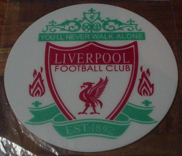 LIVERPOOL COMPUTER MOUSE PAD | SOCCER/FOOTBALL