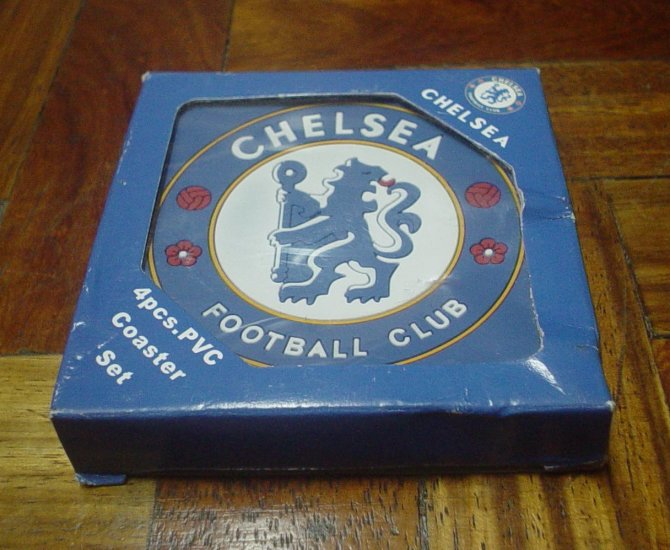 CHELSEA FC TABLE COASTERS | SOCCER/FOOTBALL