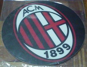 AC MILAN COMPUTER MOUSEPAD   SOCCER/FOOTBALL