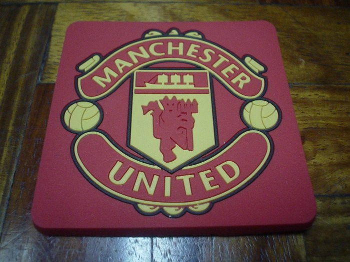 MANCHESTER UNITED COASTERS | FOOTBALL/SOCCER