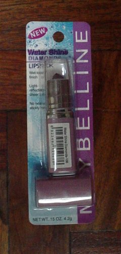 MAYBELLINE WATER SHINE DIAMONDS LIPSTICK NO. 106