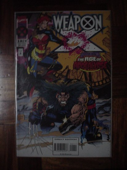 WEAPON X VOL.1 NO. 1 (MARVEL) | COMICS