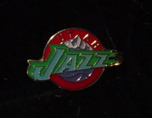 NBA Utah Jazz Crest Pin