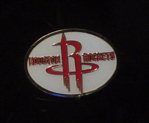 NBA Houston Rockets Crest Pin
