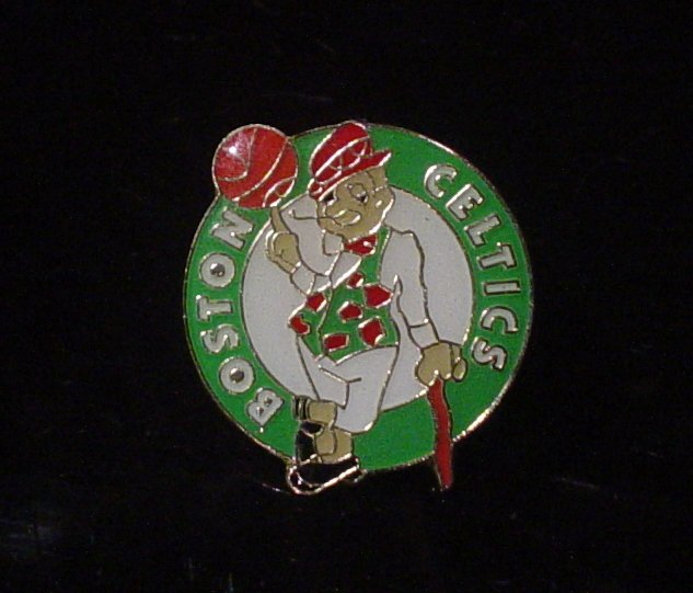 NBA Boston Celtics Crest Pin