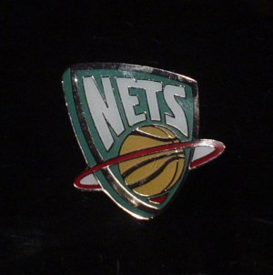 NBA New Jersey Nets Crest Pin